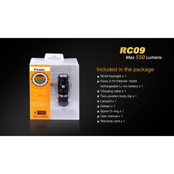 Lanterna reincarcabila Fenix RC09