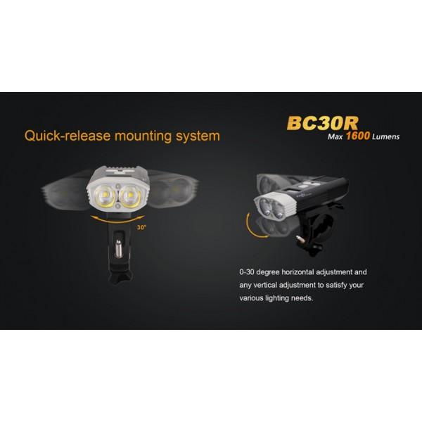 Lanternă reîncărcabilă pentru bicicletă Fenix BC30R