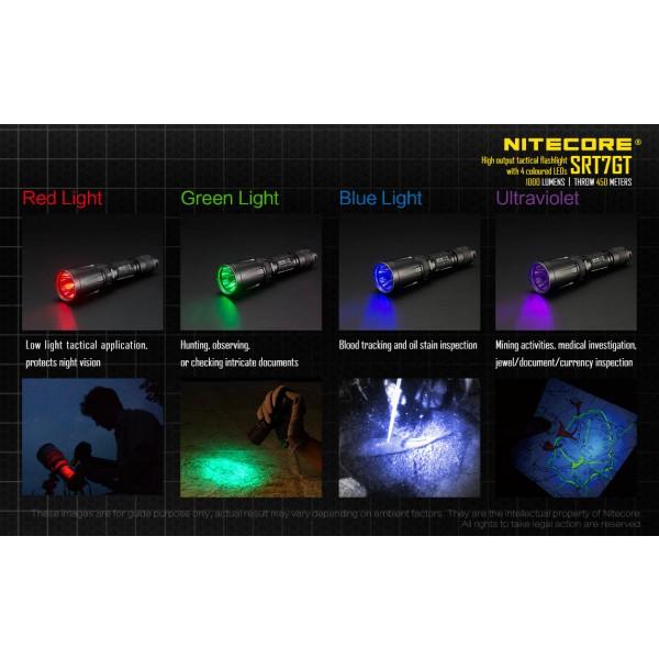 Nitecore SRT7GT, Lantern Led #5
