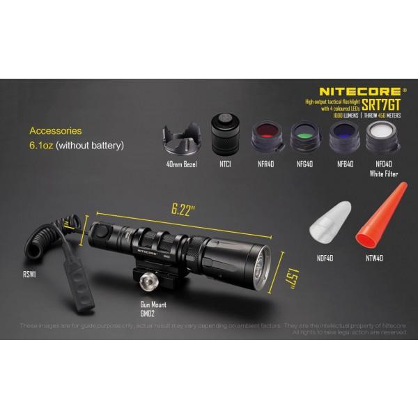 Nitecore SRT7GT, Lantern Led #1