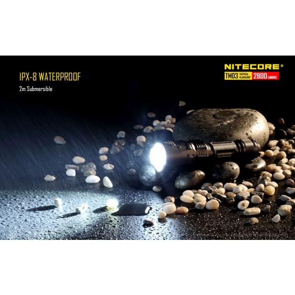 Nitecore TM03, Lanternă Tactică