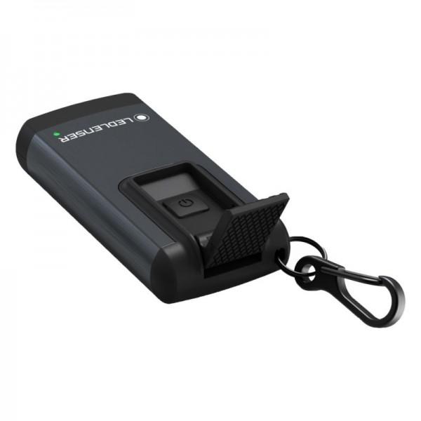 Led Lenser K6R, Lanternă Breloc, Reîncărcabilă USB, 400 Lumeni, 80 Metri