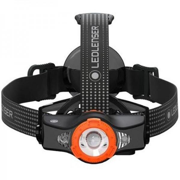LED Lenser MH11, Lanternă Frontală, Reîncărcabilă, 1000 Lumeni, 320 Metri (Portocaliu)