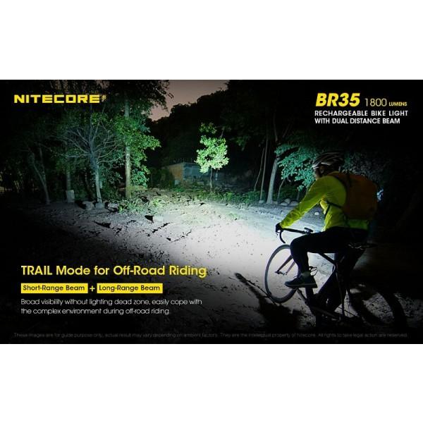 Nitecore BR35, Lanternă Pentru Bicicletă