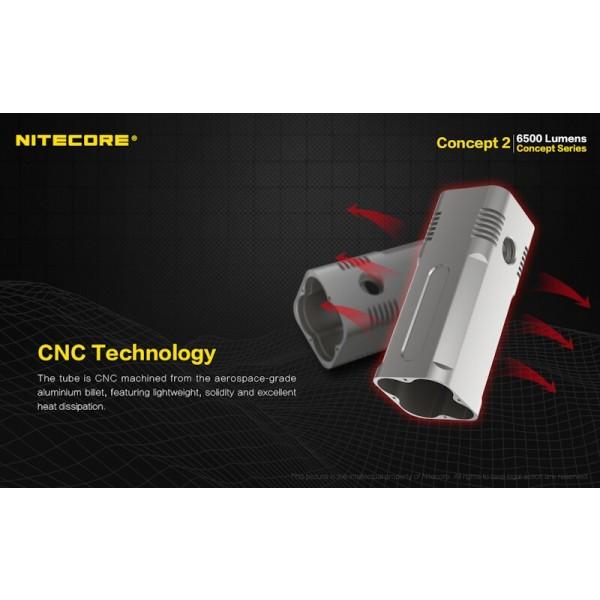 Nitecore Concept 2, Lanterna Led