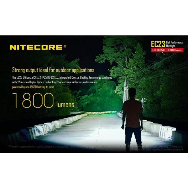 Nitecore EC23, Lanternă Led