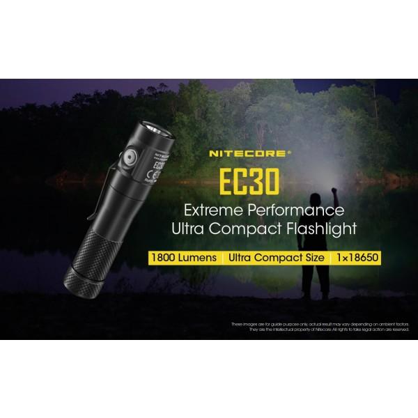 Nitecore EC30, Lanterna Led