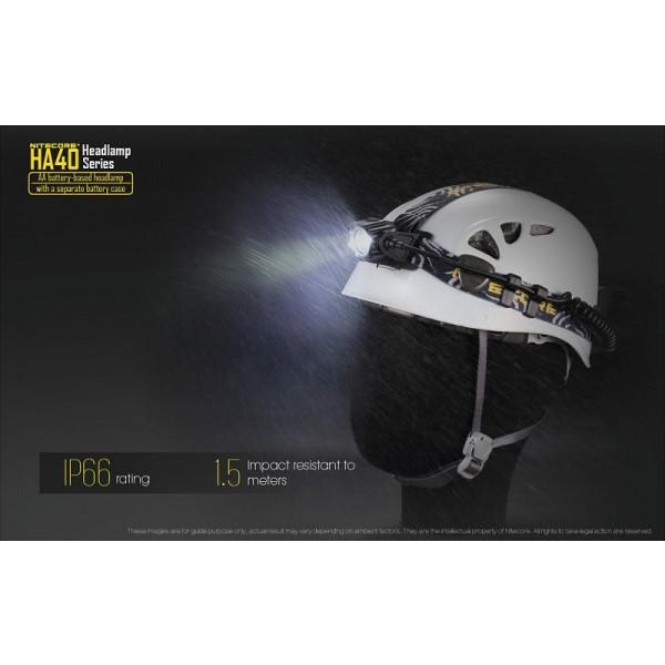 Nitecore HA40, Lanternă Frontală