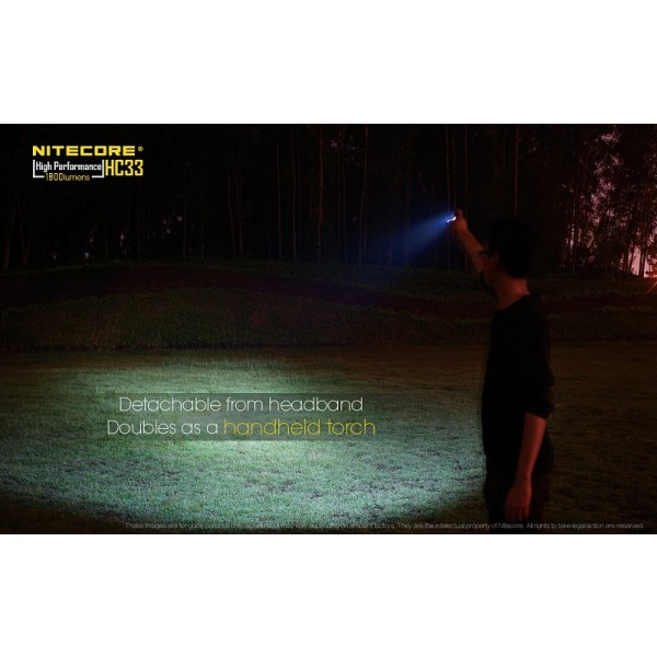 Nitecore HC33, Lanternă Frontală