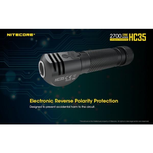 Nitecore HC35, Lanternă Frontală