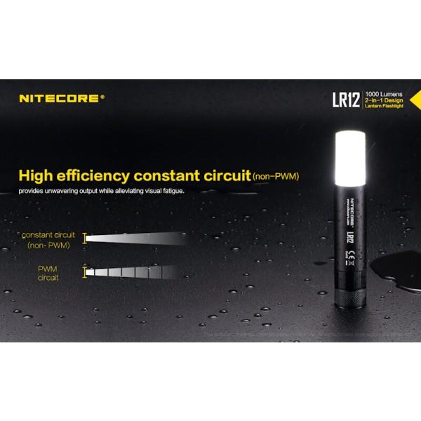 Nitecore LR12, Lanterna Led