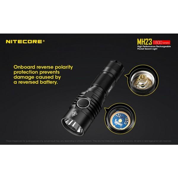 Nitecore MH23, Lanternă Led