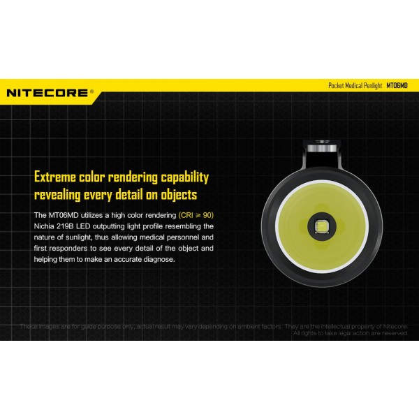 Nitecore MT06MD, Lanterna Led