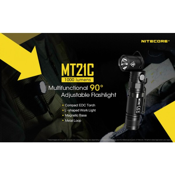 Nitecore MT21C, Lanternă Led