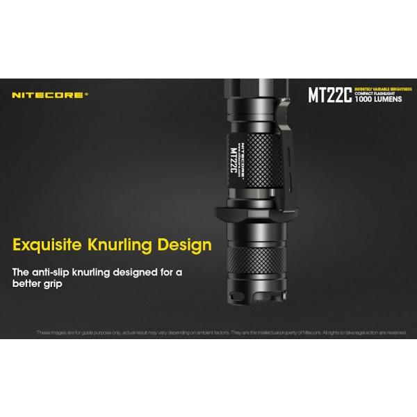 Nitecore MT22C, Lanternă Led