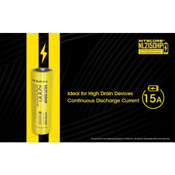 Nitecore NL2150HP, Acumulator 21700 Li-Ion High Drain