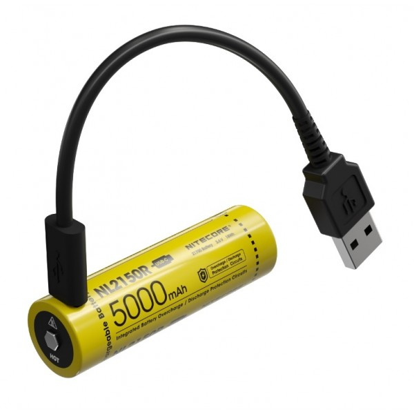 Nitecore NL2150R, Acumulator 21700 Li-Ion, USB-C