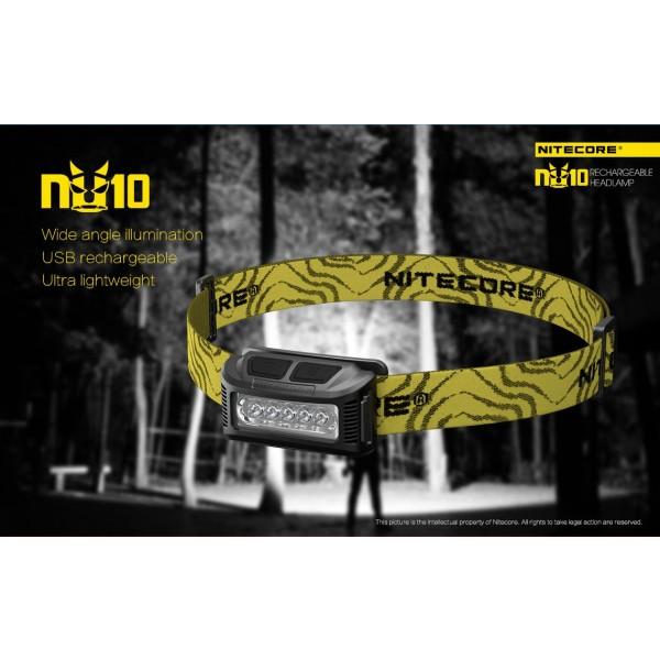 Nitecore NU10, Lanternă Frontală