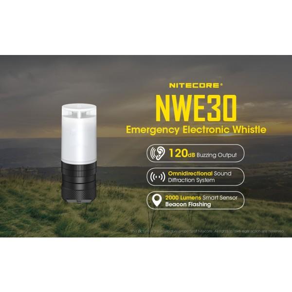 Fluier de supravietuire Nitecore NWE30