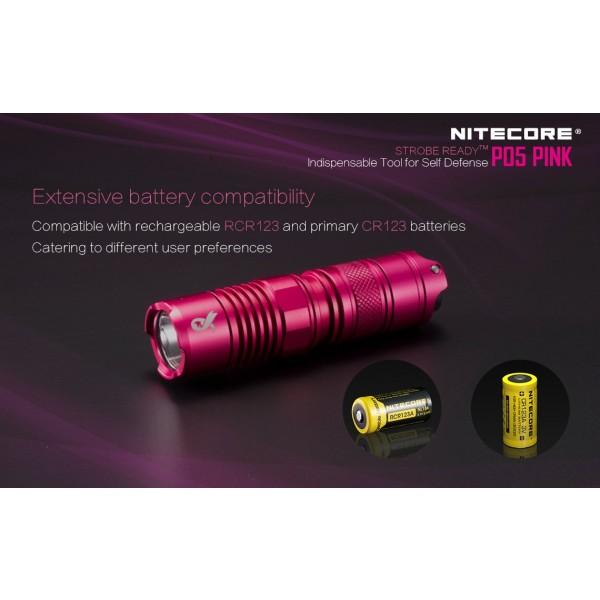 Nitecore P05 Roz, Lanternă Led