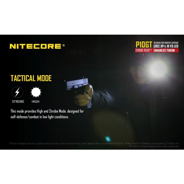 Nitecore P10GT, Lanterna Led