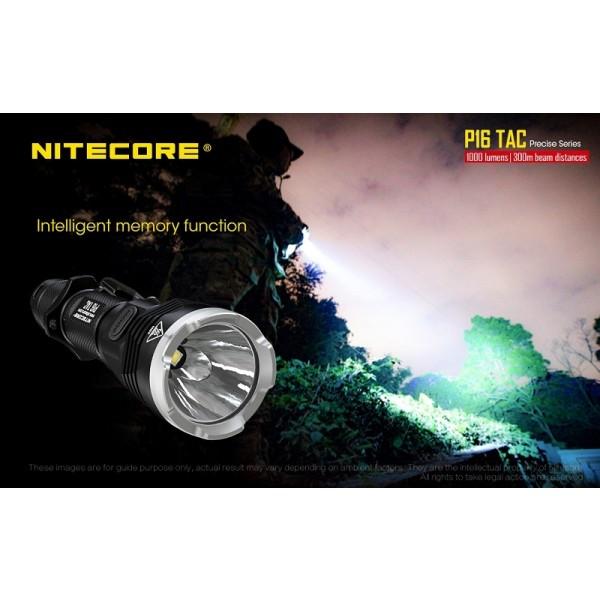 Nitecore P16TAC, Lanternă Tactică
