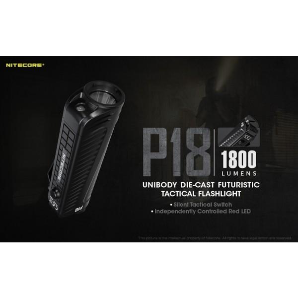 Nitecore P18, Lanternă Led