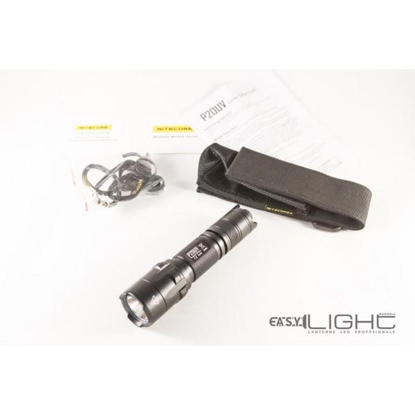 Lanterna LED profesionala Nitecore P20 UV