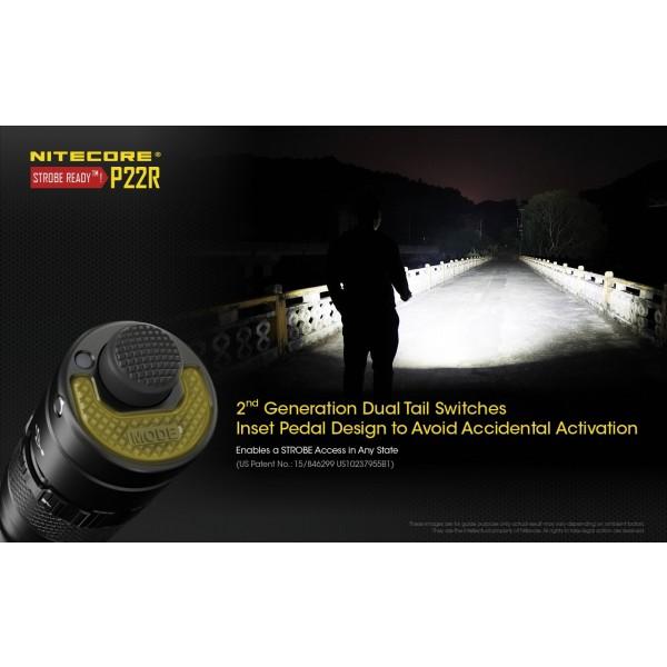 Nitecore P22R, Lanternă Led