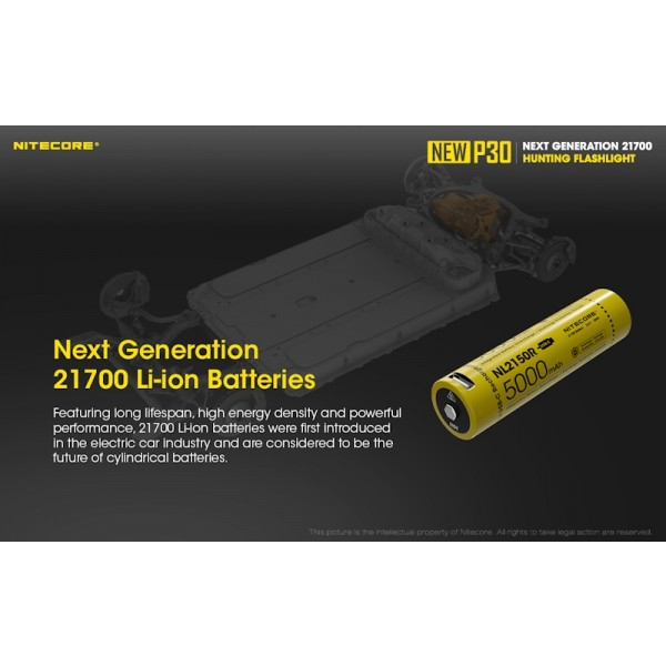 Nitecore P30 2020, Lanterna Reincarcabila