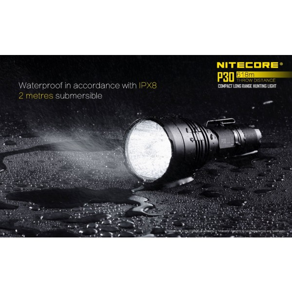 Nitecore P30, Lanterna Led