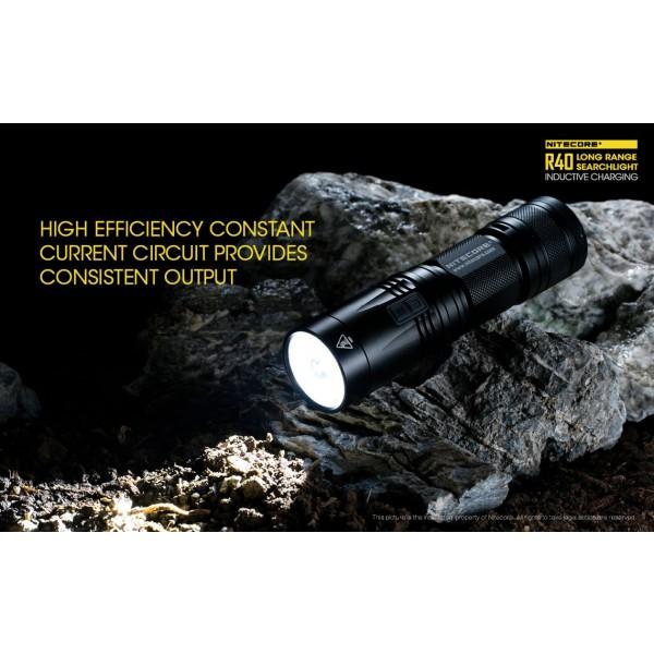 Nitecore R40, Lanternă Reîncărcabilă