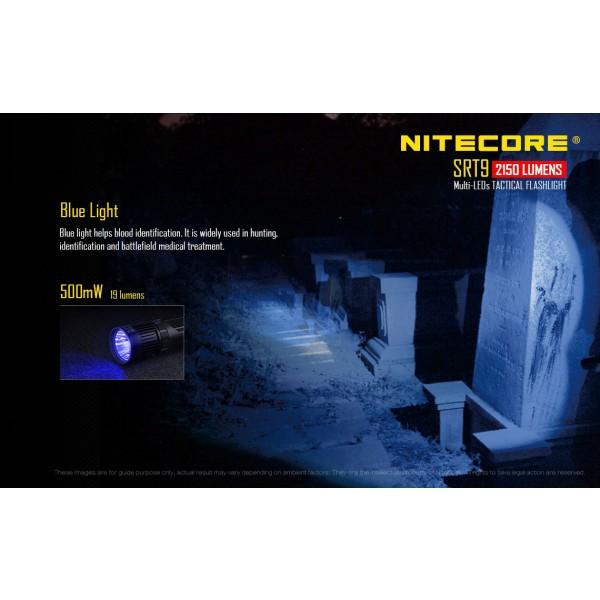 Nitecore SRT9 Lanterna Tactica Multi-Led 2150 lumeni