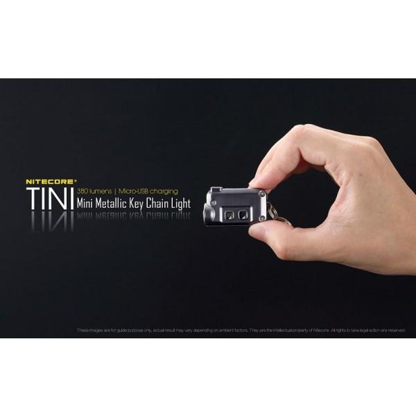 Nitecore TINI, Lanterna Reincarcabila