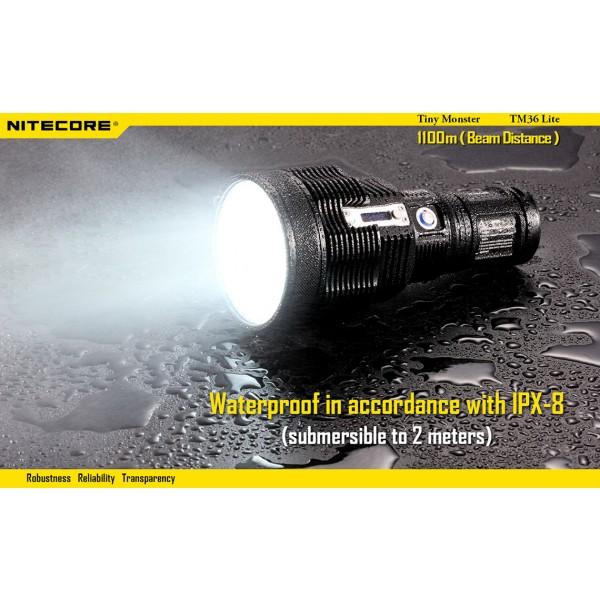 Lanterna LED reincarcabila Nitecore TM36 Lite