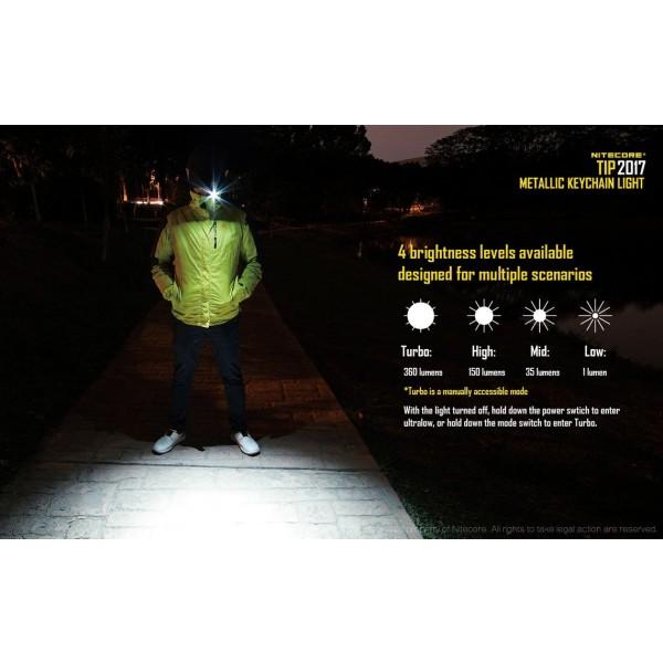 Nitecore Tip 2017, Lanternă Reîncărcabilă #10
