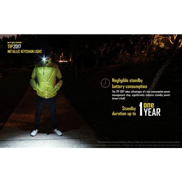 Nitecore Tip 2017, Lanternă Reîncărcabilă #16