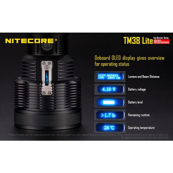 Nitecore TM38 Lite, Lanternă Reincarcabilă