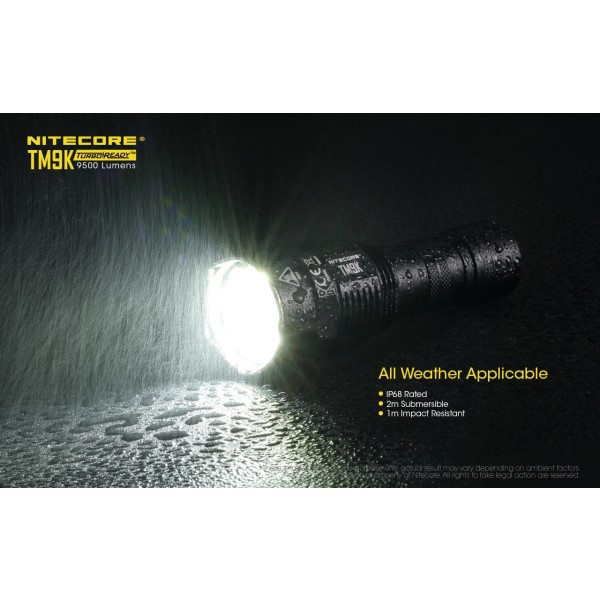 Nitecore TM9K, Lanterna Led