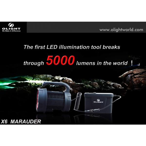 Lanterna LED reincarcabila Olight X6 Marauder