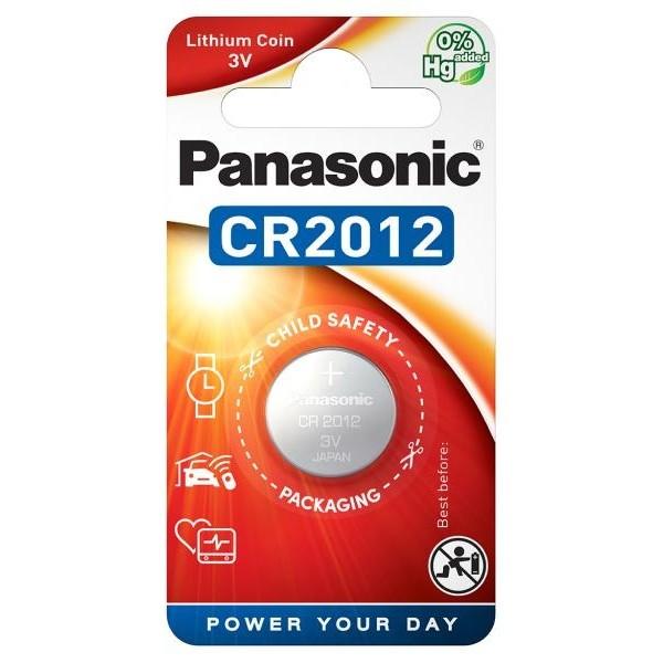 Panasonic CR-2012EL, Baterie Litiu CR2012, 3V, Blister 1