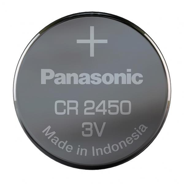 Panasonic CR-2450EL, Baterie Litiu CR2450, 3V, Blister 1