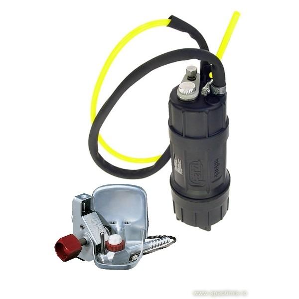Generator de gaz de acetilena Petzl Ariane si lampa Aceto