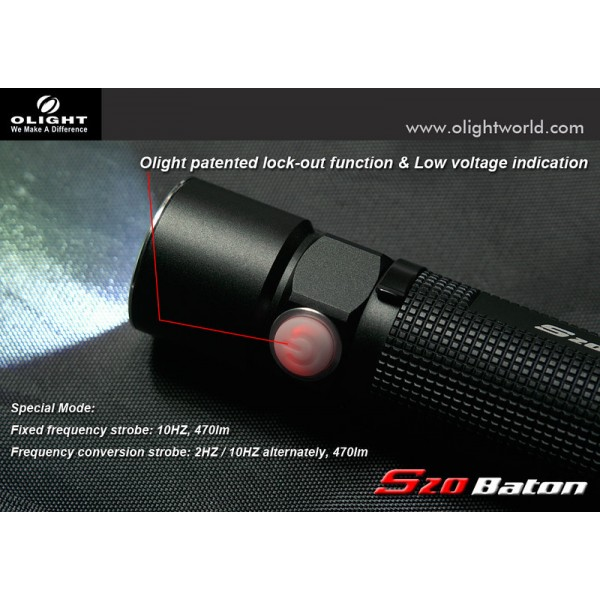 Lanterna LED Olight S20