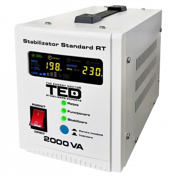 TED Electric, Stabilizator de tensiune, AVR, 2000VA