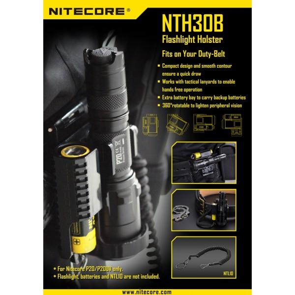 Toc Nitecore NTH30B pentru Nitecore P20 și P20UV