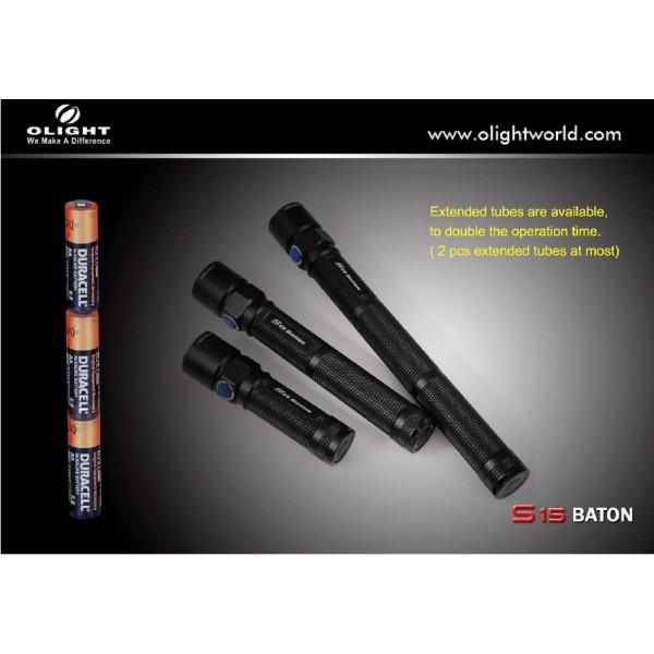 Tub prelungitor pentru Olight S15 Baton
