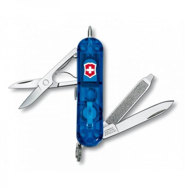 Victorinox Signature Lite, Multi-Tool Albastru transparent