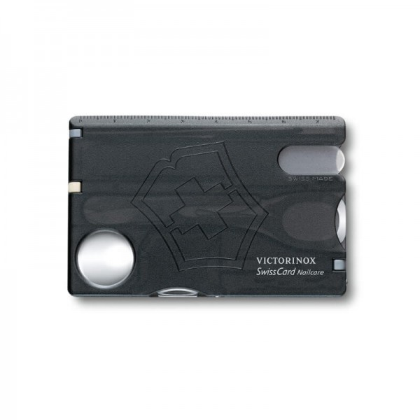 Victorinox SwissCard Nailcare, Card Multi-functional Negru