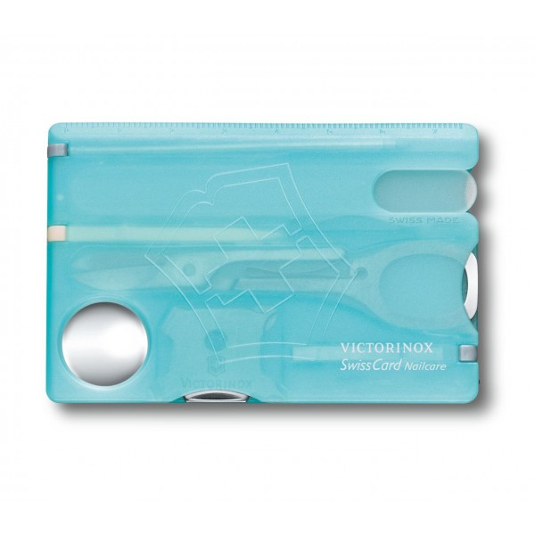 Victorinox SwissCard Nailcare (Card Multifunctional, Albastru)